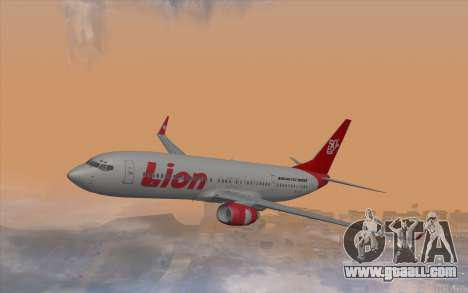 Lion Air Boeing 737 - 900ER for GTA San Andreas