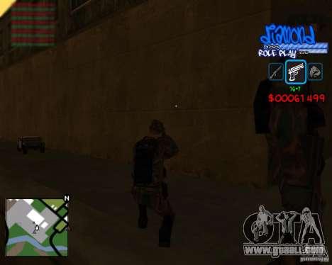 C-Hud Diamond RP for GTA San Andreas forth screenshot