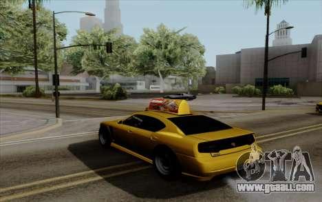 Buffalo Taxi for GTA San Andreas left view