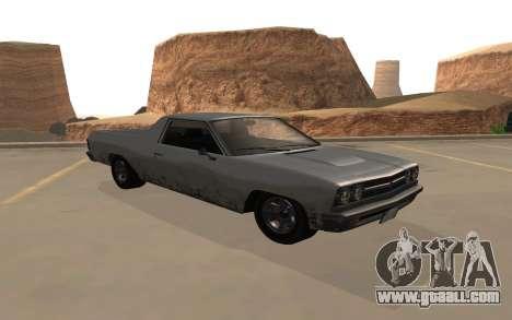 Picador GTA 5 for GTA San Andreas