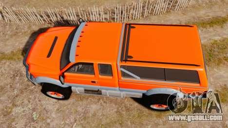 GTA V Vapid Sandking XL wheels v2 for GTA 4 right view