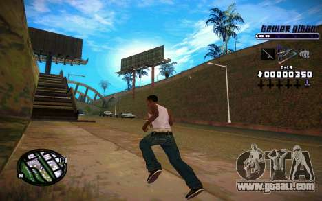 C-HUD Tawer Gitto for GTA San Andreas