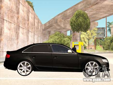Audi S4 for GTA San Andreas right view