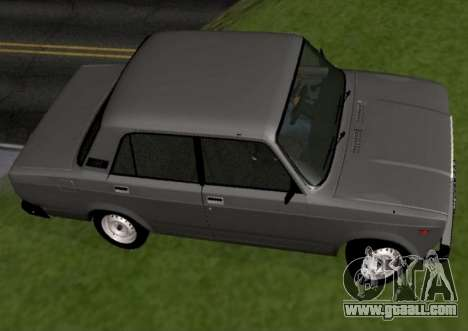 VAZ-2107 for GTA San Andreas left view