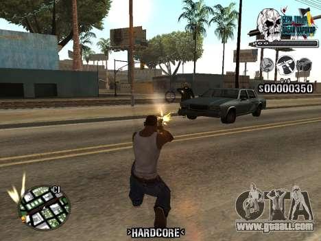 C-HUD Hardcore By KD for GTA San Andreas fifth screenshot