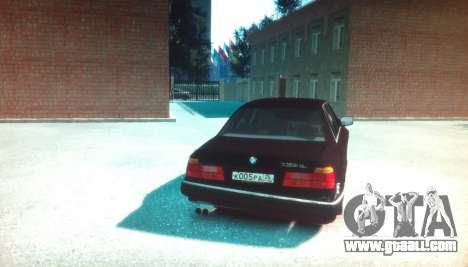 BMW 735iL E32 ver 2 for GTA 4 back left view