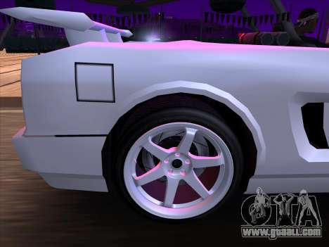 New Infernus for GTA San Andreas inner view