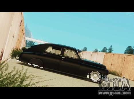 Gas M20 La Bomba for GTA San Andreas left view