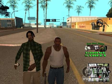 С-HUD Grove Street for GTA San Andreas