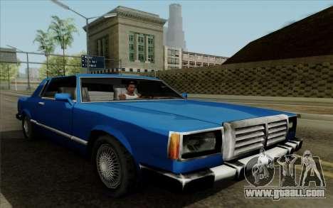 Feltzer hard top for GTA San Andreas