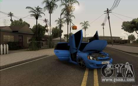 Lada Granta for GTA San Andreas inner view