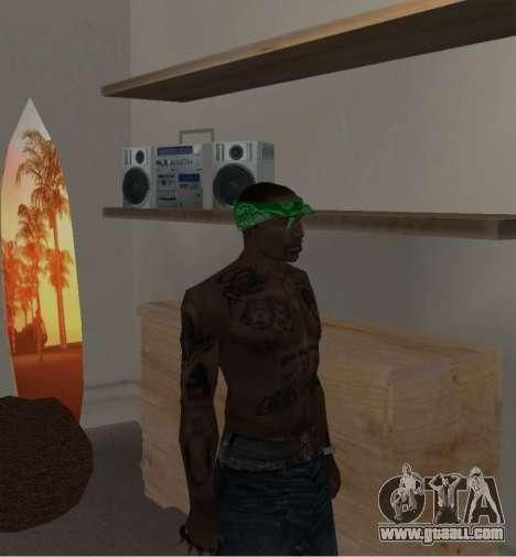 New bandanas for CJ for GTA San Andreas seventh screenshot