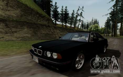 BMW 540i (E34) for GTA San Andreas right view
