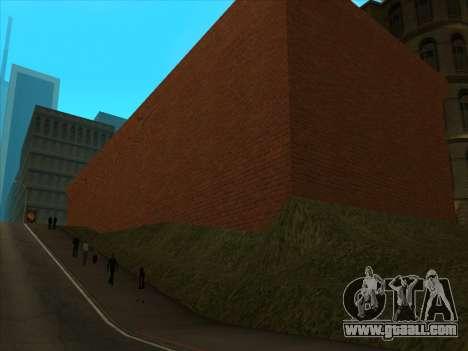 The new depot in San Piero for GTA San Andreas fifth screenshot