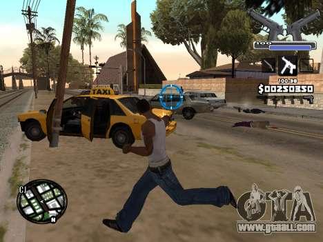 C-HUD Deagle for GTA San Andreas third screenshot