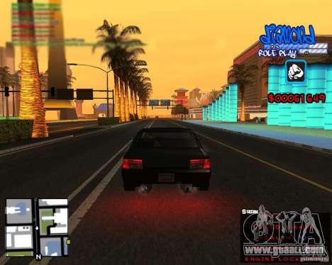 C-Hud Diamond RP for GTA San Andreas