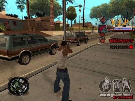 C-HUD VIP for GTA San Andreas