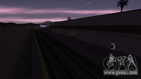 New textures railway Station in Las Venturas for GTA San Andreas forth screenshot