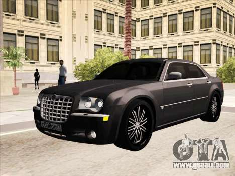 Chrysler 300C 2009 for GTA San Andreas bottom view
