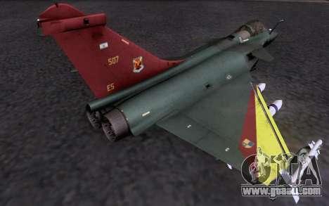Dassault Rafale M for GTA San Andreas inner view