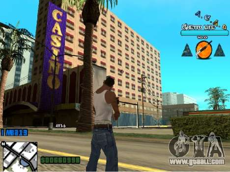 Hud ACAB for GTA San Andreas third screenshot