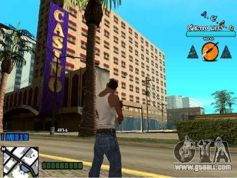 Hud ACAB for GTA San Andreas third screenshot