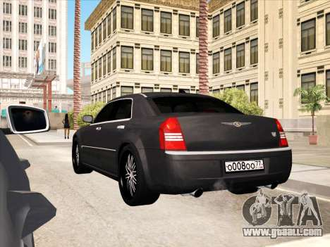 Chrysler 300C 2009 for GTA San Andreas engine
