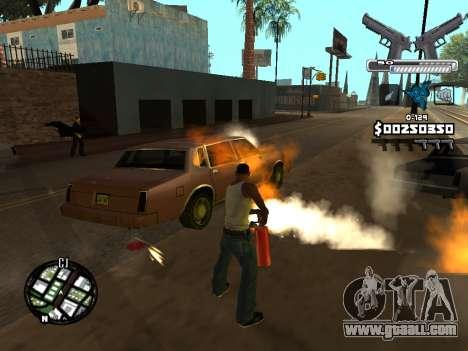 C-HUD Deagle for GTA San Andreas seventh screenshot