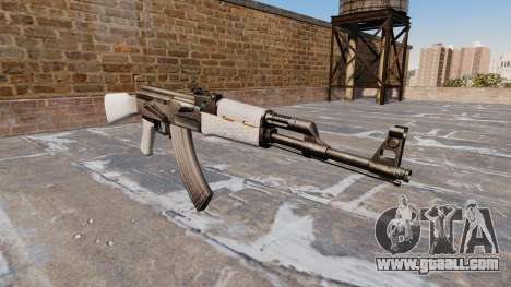 The AK-47 Chrome for GTA 4
