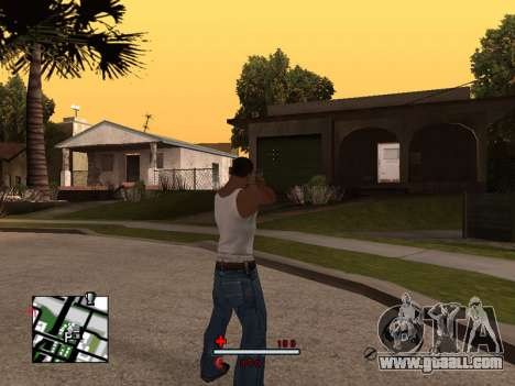 C-HUD by SaMoGoN for GTA San Andreas