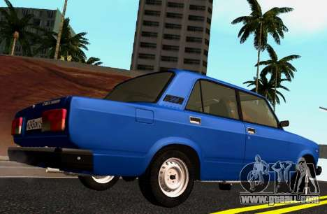 VAZ-2107 Riva for GTA San Andreas left view