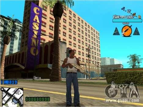 Hud ACAB for GTA San Andreas second screenshot
