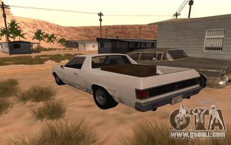 Picador GTA 5 for GTA San Andreas left view