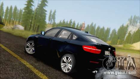 BMW X6M E71 2013 300M Wheels for GTA San Andreas left view