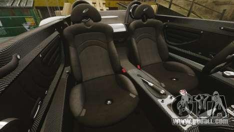 Pagani Zonda C12 S Roadster 2001 PJ6 for GTA 4 side view