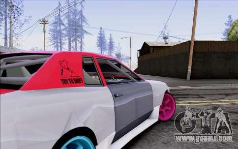 Elegy New Drift Kor4 for GTA San Andreas upper view