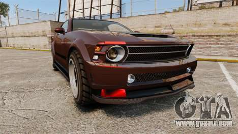 GTA V Vapid Dominator wheels v1 for GTA 4