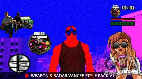 Weapon & Radar VanCee Style Pack v1 for GTA San Andreas eleventh screenshot