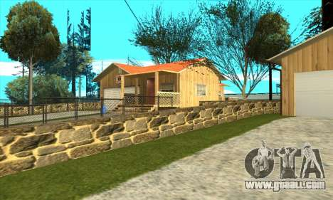 New house of Sijia in Palomino Cry for GTA San Andreas second screenshot