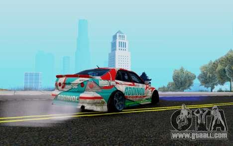 Toyota Altezza Addinol for GTA San Andreas right view
