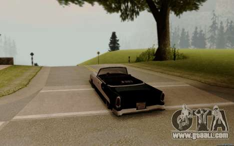 Oceanic Convertible for GTA San Andreas back left view