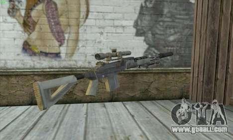 Sniper Rifle из MW2 for GTA San Andreas second screenshot