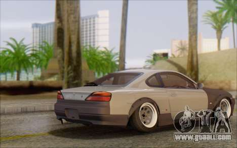 Nissan Silvia S15 Fail Camber for GTA San Andreas back left view