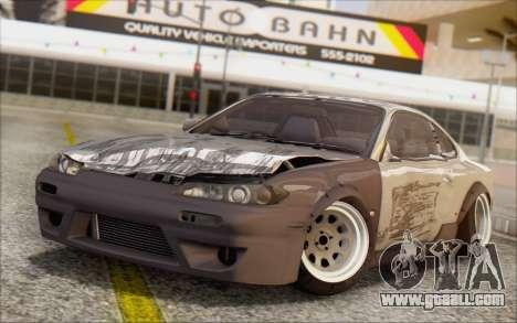 Nissan Silvia S15 Fail Camber for GTA San Andreas side view