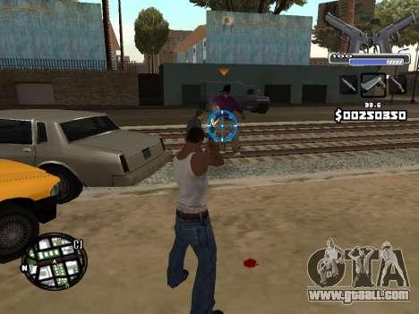C-HUD Deagle for GTA San Andreas fifth screenshot