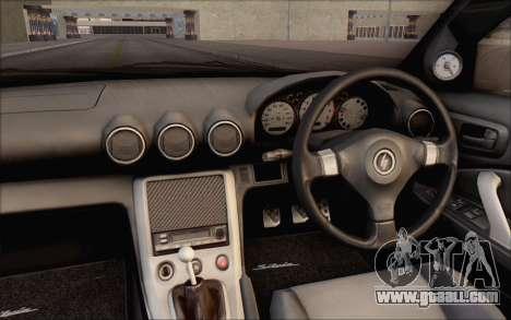 Nissan Silvia S15 Fail Camber for GTA San Andreas inner view