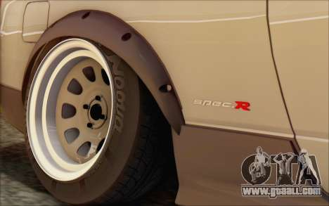 Nissan Silvia S15 Fail Camber for GTA San Andreas back view