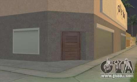 New gym for GTA San Andreas fifth screenshot