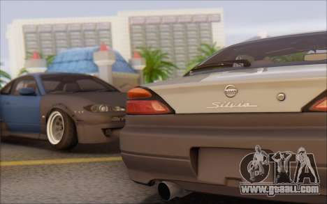 Nissan Silvia S15 Fail Camber for GTA San Andreas left view