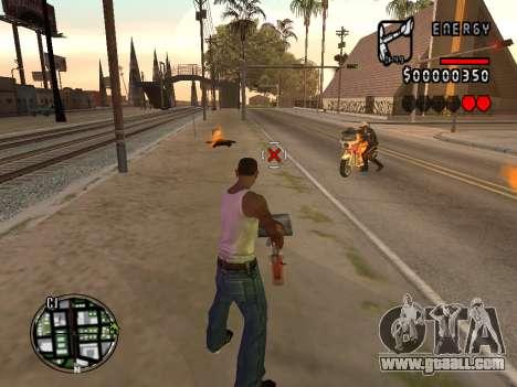 C-HUD Energy for GTA San Andreas second screenshot